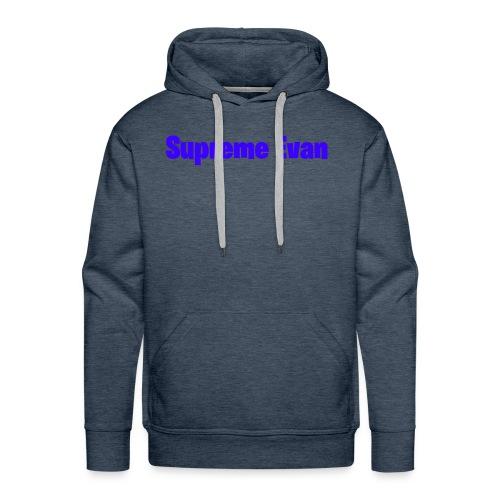 Supreme Evan YT Logo - Men's Premium Hoodie