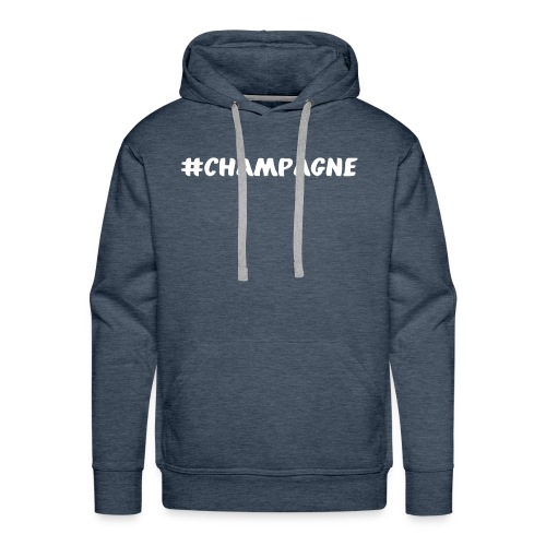 Champagne Hashtag - Men's Premium Hoodie