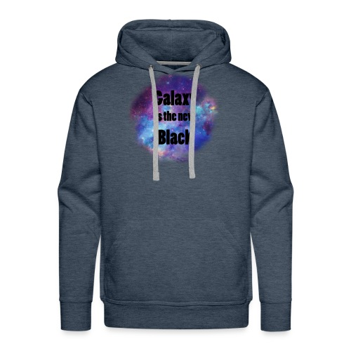 Galaxy is the new Black - Men's Premium Hoodie