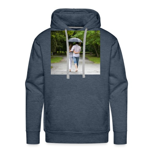 love couple 746 - Men's Premium Hoodie