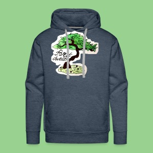 forest dweller Tree - Men's Premium Hoodie