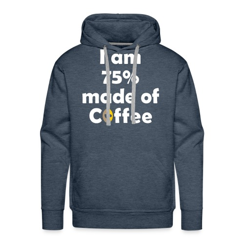 Made with Coffee - Men's Premium Hoodie