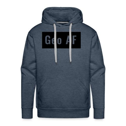 Geo AF logo - Men's Premium Hoodie
