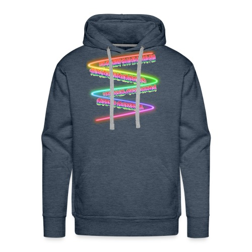 Awesome Phrase Men's Products - Men's Premium Hoodie