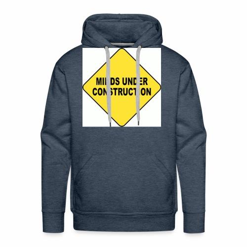 MINDS UNDER CONSTRUCTION - Men's Premium Hoodie