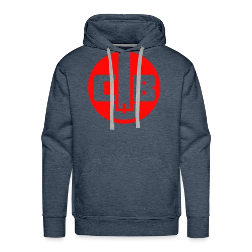 TCB Logo Red One Color - Men's Premium Hoodie