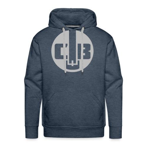 TCB Logo Grey One Color - Men's Premium Hoodie