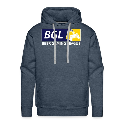 Mens Official Beer Gaming League Shirt - Men's Premium Hoodie