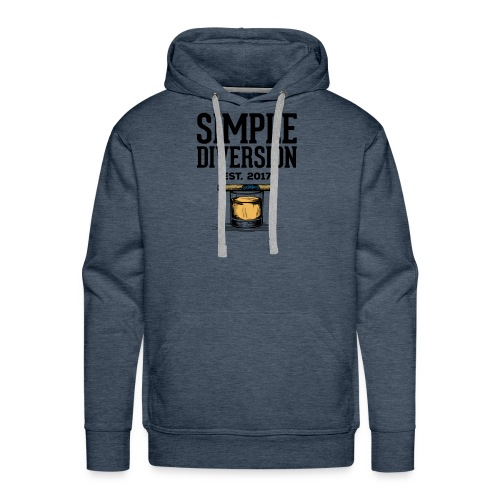 SD Text Logo - Men's Premium Hoodie