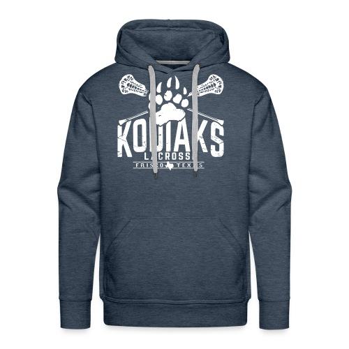 Kodiaks Lacrosse 2018 white - Men's Premium Hoodie