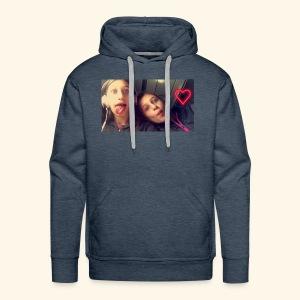 Madison and Dylan Selfie - Men's Premium Hoodie