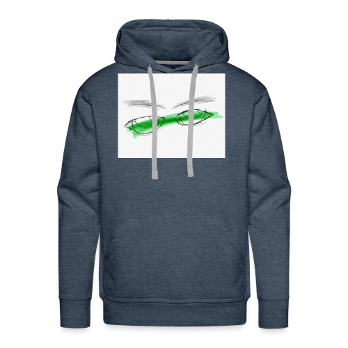 QR He & I Logo - Men's Premium Hoodie