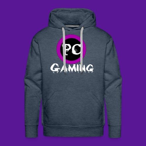 PC gaming purple codex logo - Men's Premium Hoodie