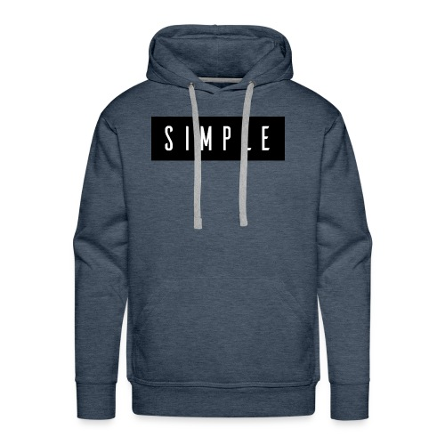 Simple - Men's Premium Hoodie