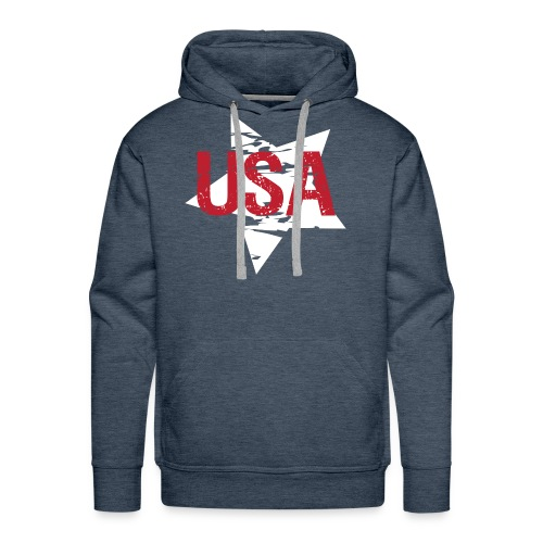 USA! - A stylish 4th July collection - Men's Premium Hoodie