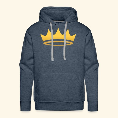 The Famous One - Crown - Men's Premium Hoodie
