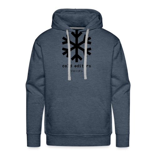 cold editors-frozen - Men's Premium Hoodie