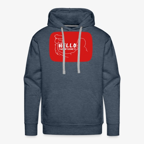 HELLO THE INTERNET! - Men's Premium Hoodie