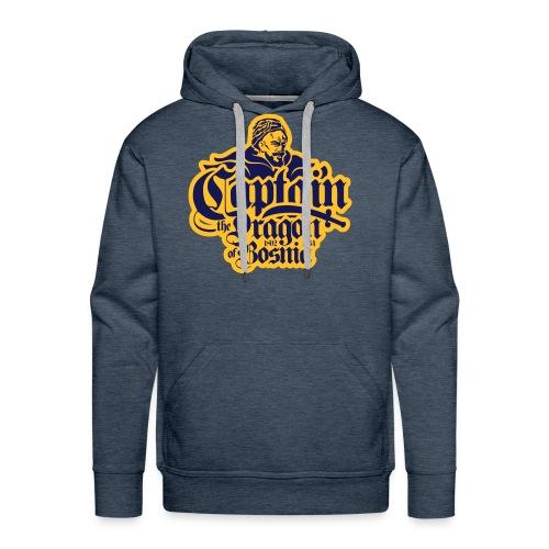 Captain The Dragon Of Bosnia - Men's Premium Hoodie
