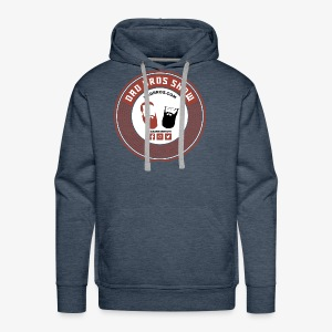 Dad Bros Retro Record - Men's Premium Hoodie