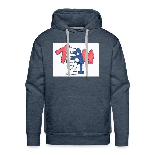 team 21 the best - Men's Premium Hoodie