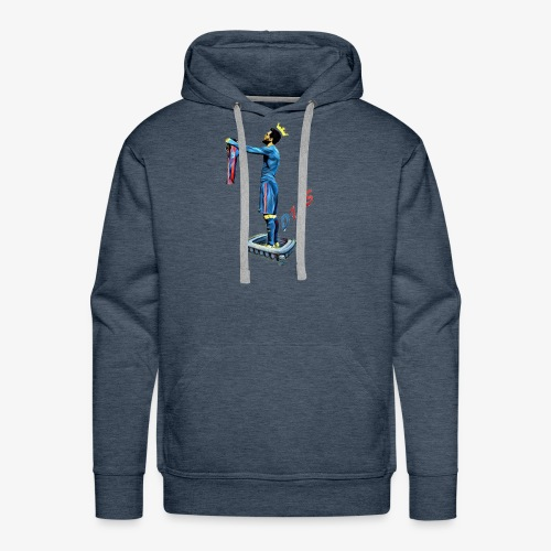 Love story 4 all G.O.A.T. fans out there! - Men's Premium Hoodie