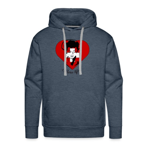 nurselife - Men's Premium Hoodie