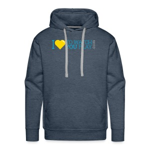 I love to watch you play - Men's Premium Hoodie
