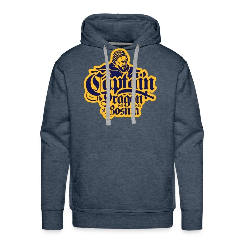Captain The Dragon Of Bosnia - Men's Premium Hoodie