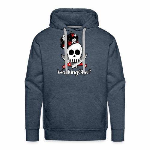 WorkingChef - skulls - Men's Premium Hoodie
