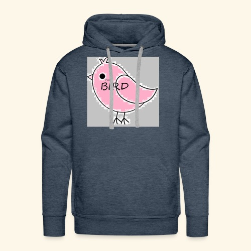 The Pink Bird - Men's Premium Hoodie