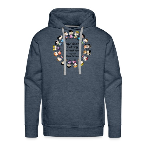 TShirtHarmonyFull by You'll Wear Me Out - Men's Premium Hoodie