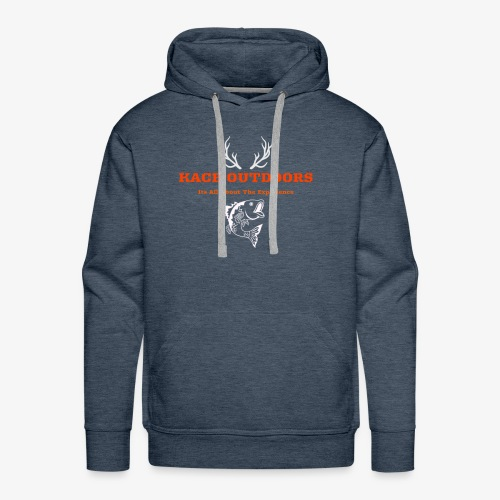 Kick ass catch bass - Men's Premium Hoodie