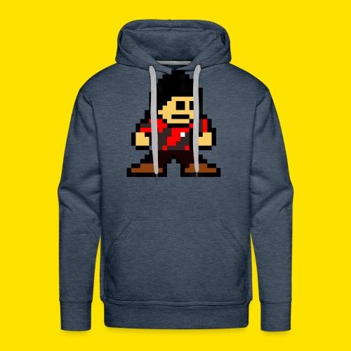Kuna Mega Man Logo Unisex Tie-Die - Men's Premium Hoodie