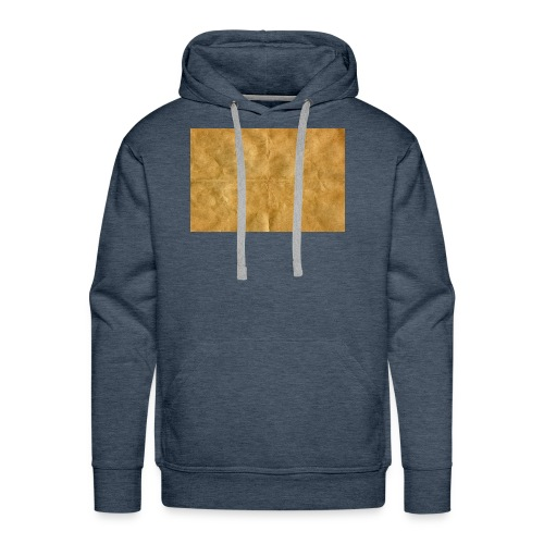 golden block rock - Men's Premium Hoodie