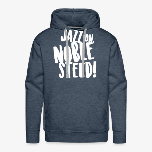 MSS Jazz on Noble Steed - Men's Premium Hoodie