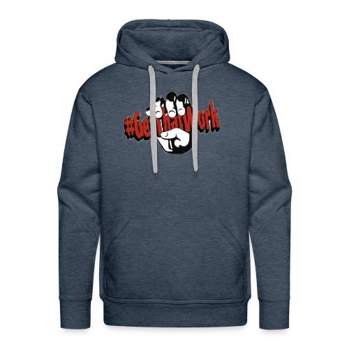 #GetThatWork Red - Men's Premium Hoodie
