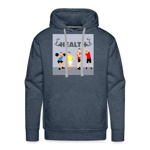 Gym wear present for everyone gift idea - Men's Premium Hoodie