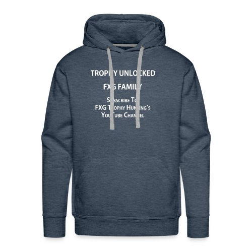 FXG Family Trophy Unlocked - Men's Premium Hoodie