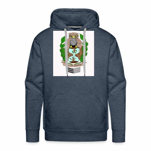 owl hourglass - Men's Premium Hoodie