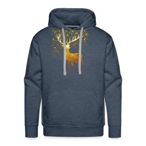 Deer Lover T shirt - Men's Premium Hoodie