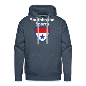 The Southbound Sports Shield Logo. - Men's Premium Hoodie
