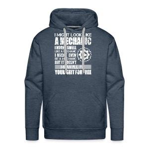 auto mechanic - Men's Premium Hoodie