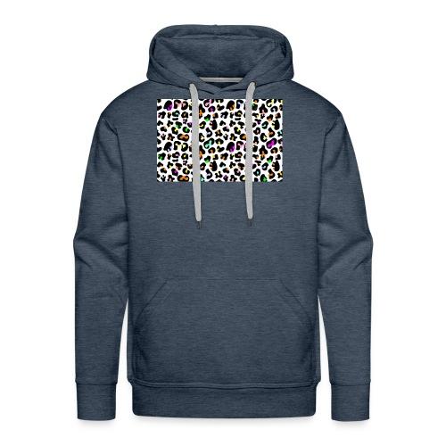 Colorful Animal Print - Men's Premium Hoodie
