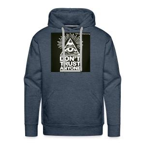DONT TRUST ANYONE - Men's Premium Hoodie