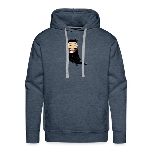 Bearded man - Men's Premium Hoodie