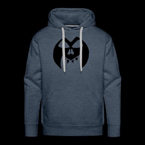 Black Transparent Logo - Men's Premium Hoodie