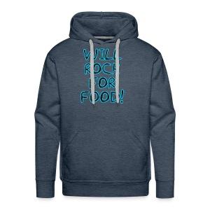 Will Rock4Food - Men's Premium Hoodie