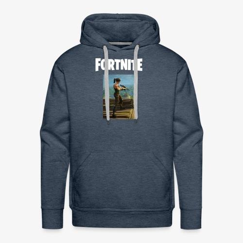 fortnite sniper tee - Men's Premium Hoodie