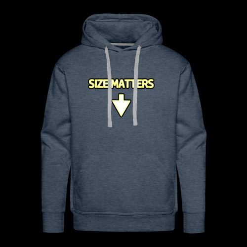 Size Matters - Guys - Men's Premium Hoodie